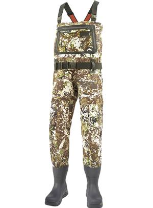 <font color=red>On Sale - Clearance</font><br>Simms G3 Guide Bootfoot Wader - Vibram - River Camo