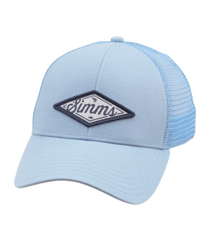 <font color=red>On Sale - Clearance</font><br>Simms Classic Script Cap - Fog