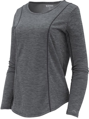 Simms Women's Lightweight Core Top - Black