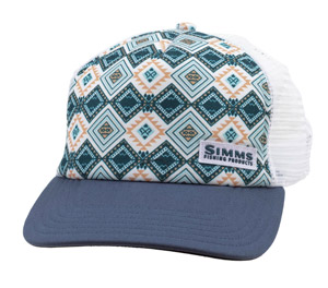 <font color=red>On Sale - Clearance</font><br>Simms Women's Adventure Trucker - Blue Depths