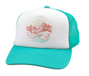 <font color=red>On Sale - Clearance</font><br>Simms Women's Adventure Trucker - Aruba