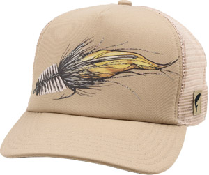 <font color=red>On Sale - Clearance</font><br>Simms Artist Series Fly Trucker - Dune