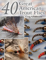 40 GREAT AMERICAN TROUT FLIES