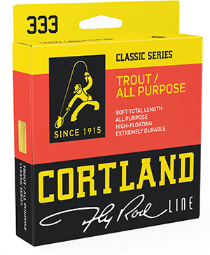 Cortland 333 Trout All Purpose Fly Line