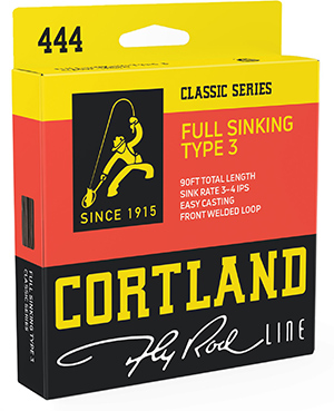 Cortland 444 Classic Series Full Sinking Type 3 Fly Line