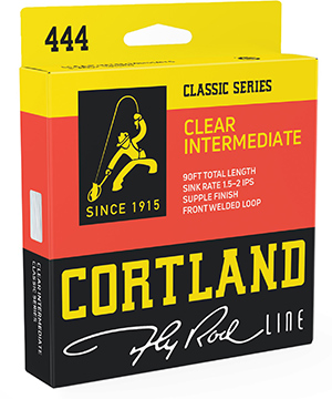 Cortland 444 Classic Series Clear Intermediate Fly Line