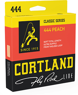 Cortland 444 Classic Series 444 Peach Fly Line