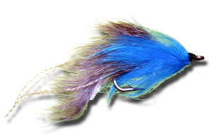 Blue Collar Tarpon Fly - Blue & Gray