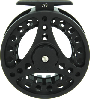 Cayadutta Super Large Arbor Fly Reel - Black