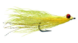Clouser Deep Minnow - Chartreuse & Yellow