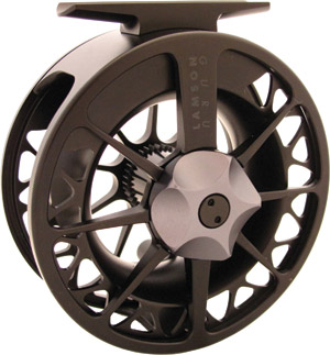 <font color=red>On Sale - Clearance</font><br>Lamson Guru Series II Black Reel