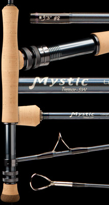 <font color=red>On Sale - Clearance</font><br>Mystic Tremor Saltwater Series Fly Rods