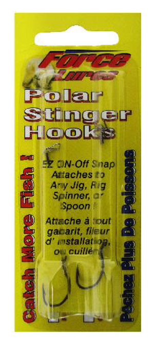Polar Stinger Single Hooks - Bronze 2/PK