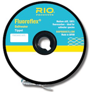 <font color=red>On Sale - Clearance</font><br>Rio Fluoroflex Saltwater Tippet - Previous Version
