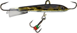 Saber Jigging Minnow - Model 72 - Gold/Silver