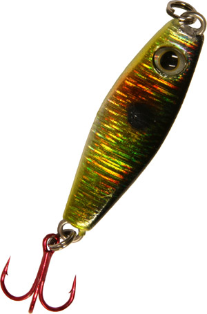 Saber Minnow Jigging Spoon - Hickory Shad