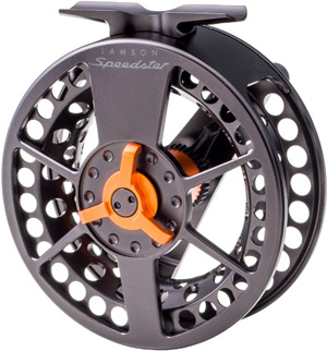 <font color=red>On Sale - Clearance</font><br>Lamson Speedster Black/Orange Spare Spool
