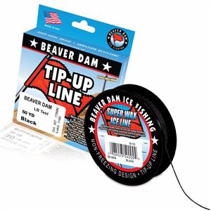 Beaver Dam Super Wax Ice Line Tip-Up Line 50 Yards