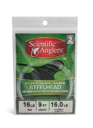 Leader 20LB 2 Pack Scientific Anglers Freshwater Tapered 9 ft