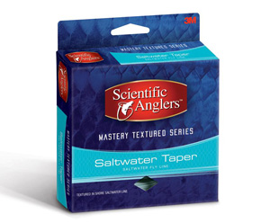 <font color=red>On Sale - Clearance</font><br>Scientific Anglers Mastery Textured Saltwater Taper - Light Blue