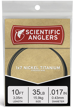 <font color=red>On Sale - Clearance</font><br>Scientific Anglers Nickel Titanium Wire - Niti