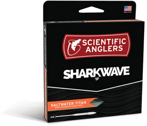 <font color=red>On Sale - Clearance</font><br>Scientific Anglers SharkWave Saltwater Titan - Yellow/Mist Green/Blue