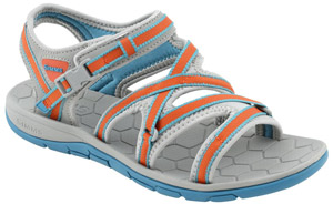 <font color=red>On Sale - Clearance</font><br>Simms Women's Clearwater Sandal - Lagoon