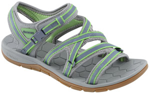 <font color=red>On Sale - Clearance</font><br>Simms Women's Clearwater Sandal - Spring Green