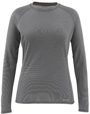 Simms Women's Waderwick Core Crewneck - Iron