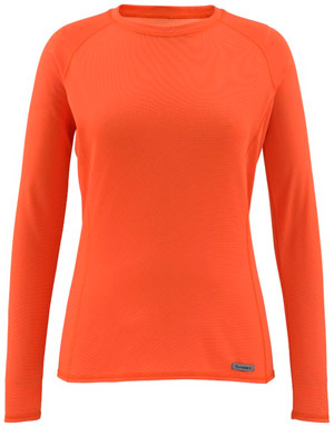 Simms Women's Waderwick Core Crewneck - Poppy