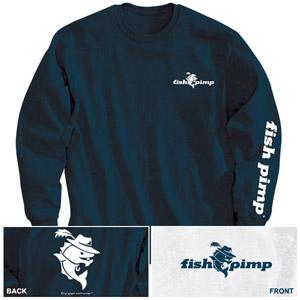 Fly Fishing Flies Fish Pimp Long Sleeve T Shirt