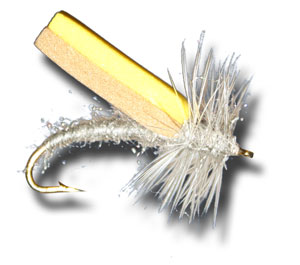 Foam Wing Caddis - Grey