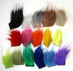 Details about  /Premier Grade Long Finn Racoon Arctic Runner Hair for Salmon Flies 15 Colours