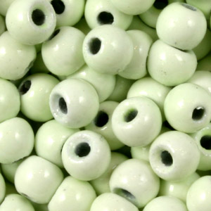 Tungsten Nymph Beads - 100/Bag - Glow in the Dark