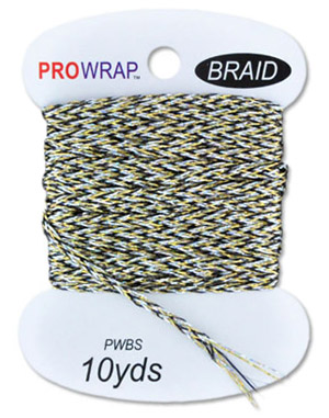 ProWrap Metallic Braid - 1/16 in - 10yds