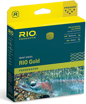 Rio Gold Fly Line - Moss/Gold