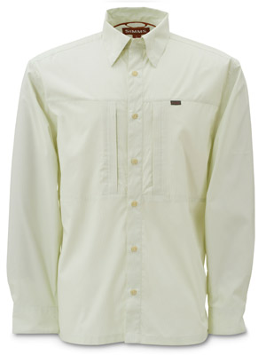 <font color=red>On Sale Clearance</font><br>Simms Riffle Stripe Shirt - Lime