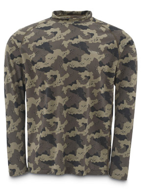 <font color=red>On Sale - Clearance</font><br>Simms Solarflex Shirt - LS - Simms Camo