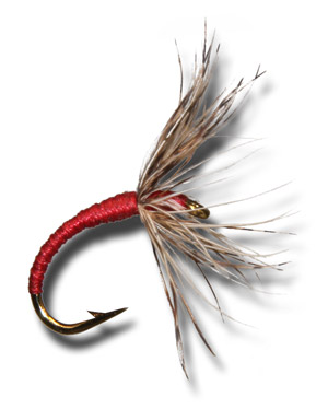 Tenkara Shinpuru Kebari - Red