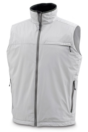 <font color=red>On Sale - Clearance</font><br>Simms Windstopper Transit Vest - Lt Gray
