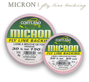 Micron® Fly Line Backing - 12lb - 100yd