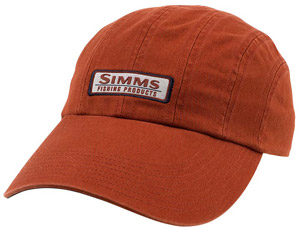 <font color=red>On Sale - Clearance</font><br>Simms Double Haul Cap - Simms Orange