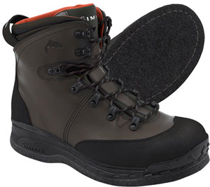 <font color=red>On Sale - Clearance</font><br>Simms Freestone Boot - Felt - Dark Olive
