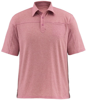 <font color=red>On Sale - Clearance</font><br>Simms Lowcountry Tech Polo - Brick