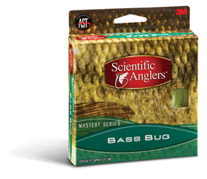 Scientific Anglers Mastery Bass Bug - Yellow