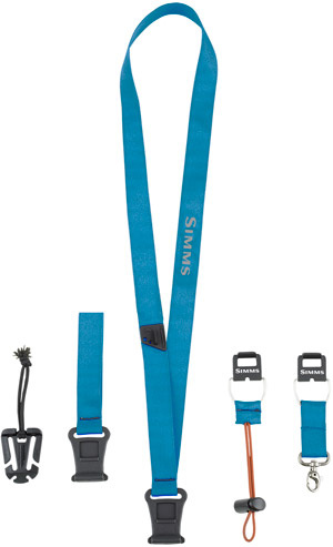 <font color=red>On Sale - Clearance</font><br>Simms Quick Stash Lanyard - Electric Blue