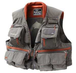 <font color=red>On Sale - Clearance</font><br>Simms Guide Vest - Greystone