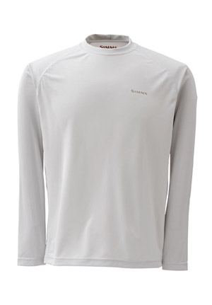 <font color=red>On Sale - Clearance</font><br>Simms Solarflex Shirt - LS - Grey