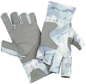 <font color=red>On Sale - Clearance</font><br>Simms Solarflex Guide Glove - Flow Camo