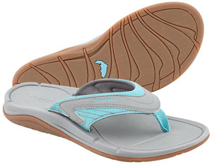 <font color=red>On Sale - Clearance</font><br>Simms Women's Atoll Flip - Smoke
